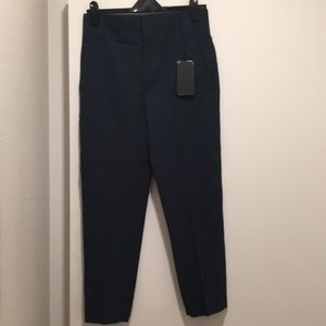 Zara trousers navy blue
